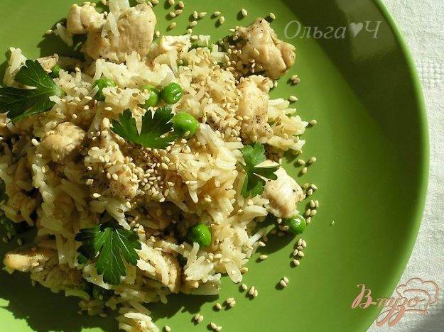Рецепт Рис с курицей по-азиатски