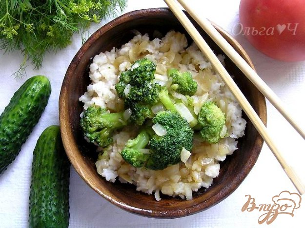 Рецепт Рис с брокколи по-китайски