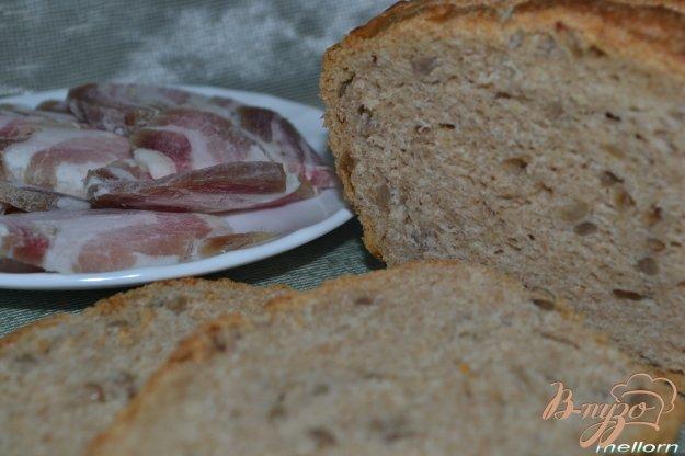 фото рецепта: Ржано-пшеничный хлеб с семечками