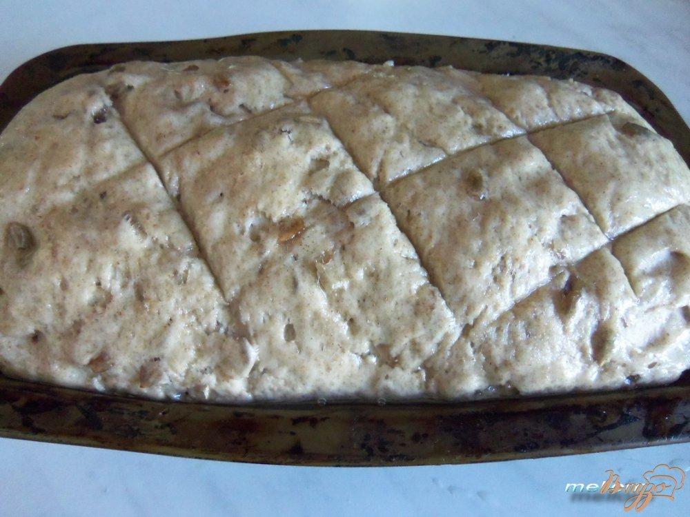 Фото приготовление рецепта: Ржано-пшеничный хлеб с семечками шаг №5
