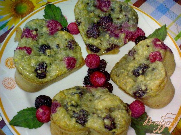 Рецепт Кексы с карри и ягодами