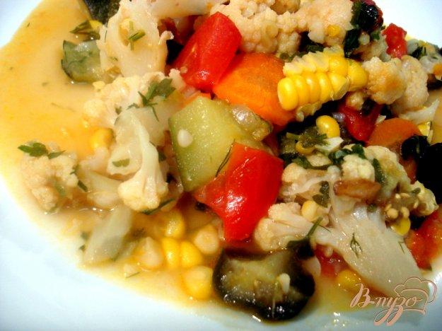 Рецепт Летнее рагу с кукурузой