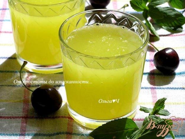 """Рецепт Напиток """"Цитрусовый"""" с мятным сиропом"""