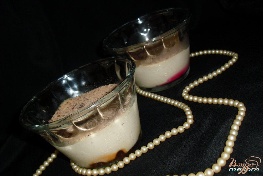 Фото приготовление рецепта: Десерт «Прикосновение нежности» шаг №6