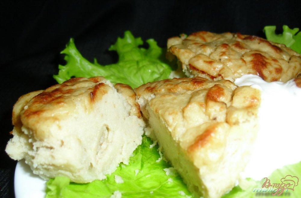 Фото приготовление рецепта: Суфле из печени трески шаг №5