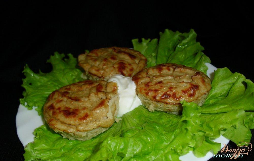 Фото приготовление рецепта: Суфле из печени трески шаг №4