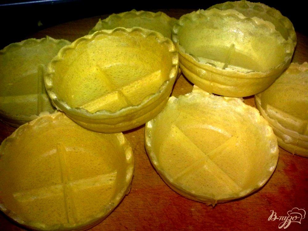 Фото приготовление рецепта: Тарталетки с курицей
