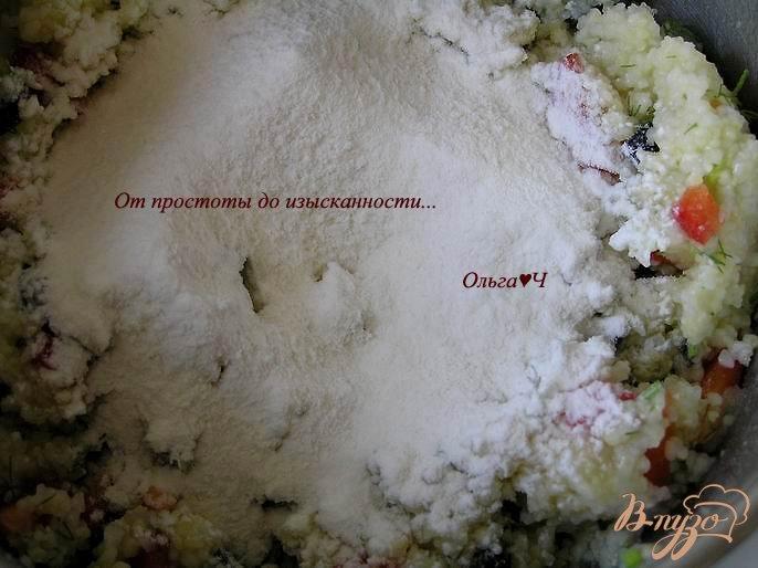 Фото приготовление рецепта: Кукурузные крупеники шаг №3
