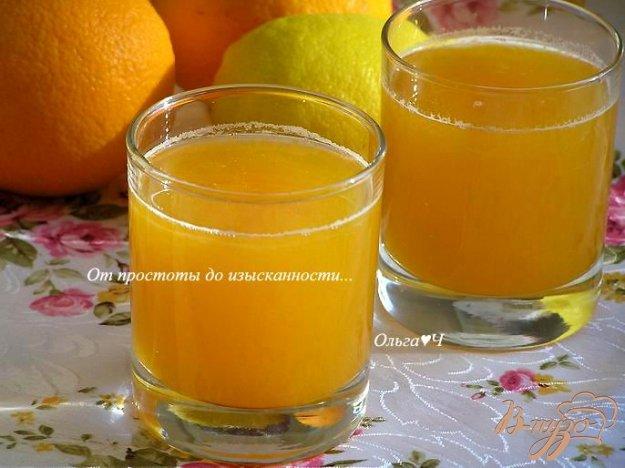 Рецепт Тыквенный напиток с лимоном