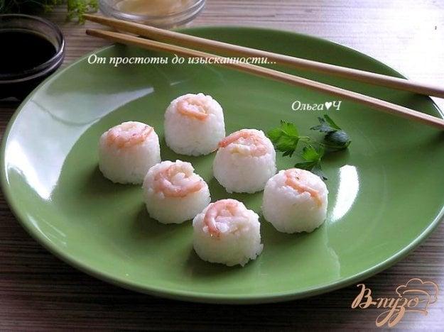 фото рецепта: Нигири с креветками
