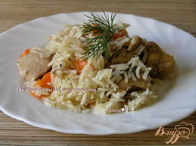 Рецепт Плов со свининой (в мультиварке)