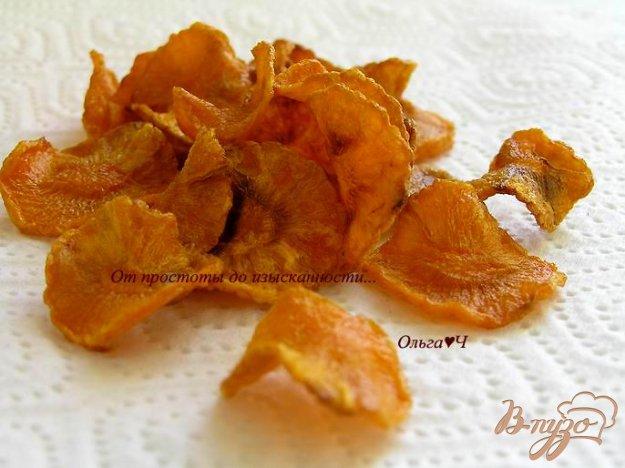 Рецепт Морковные чипсы