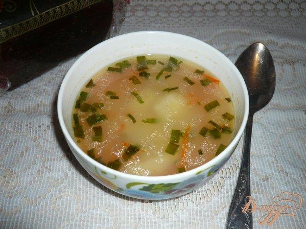 фото рецепта: Суп с рисом и картофелем