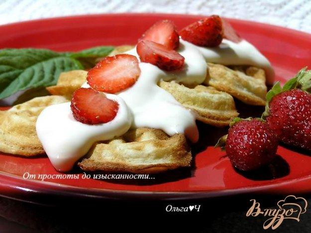 Рецепт Банановые вафли