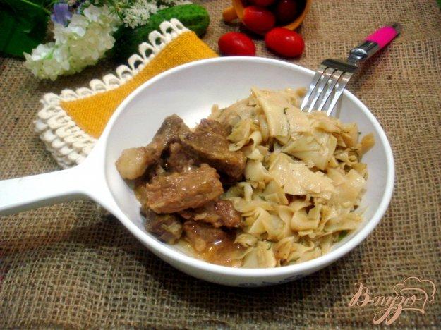 Рецепт Лазанки с капустой и мясом