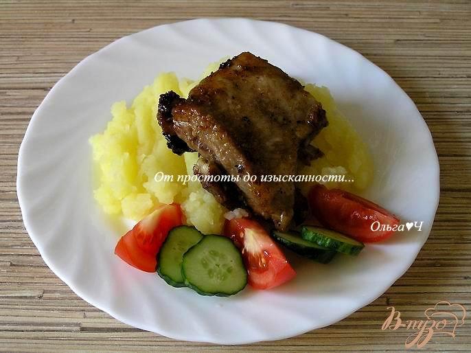 Фото приготовление рецепта: Ребрышки