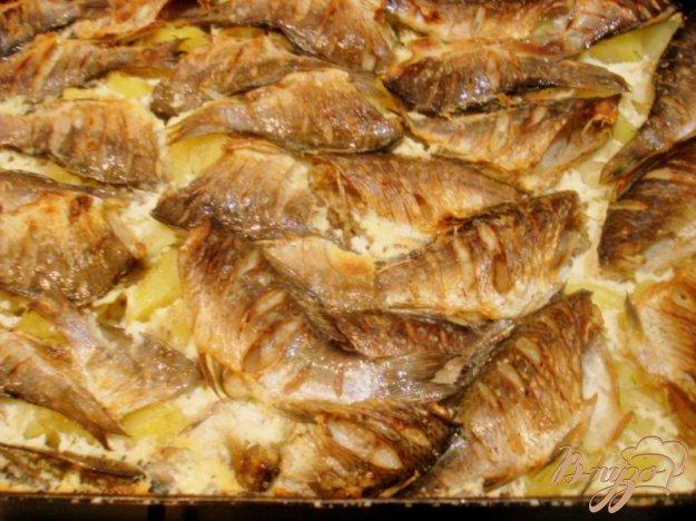 Рецепт Караси запеченные с картофелем