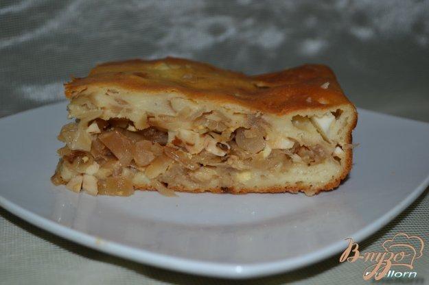 Рецепт Пирог заливной с капустой