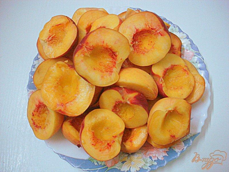 Фото приготовление рецепта: Персике в сиропе шаг №2