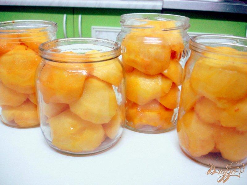 Фото приготовление рецепта: Персике в сиропе шаг №3