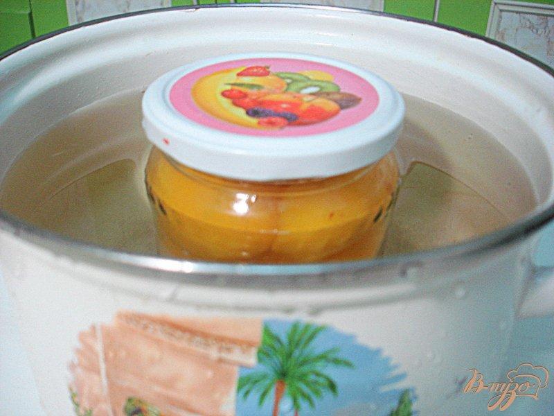 Фото приготовление рецепта: Персике в сиропе шаг №4
