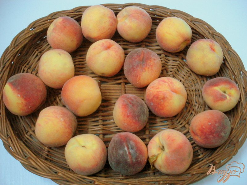 Фото приготовление рецепта: Персике в сиропе шаг №1