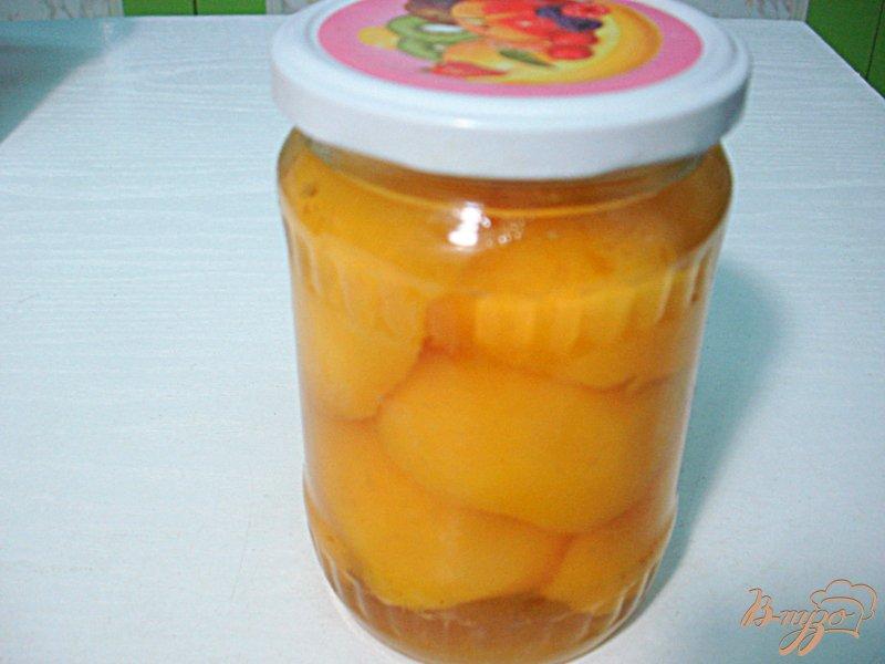 Фото приготовление рецепта: Персике в сиропе шаг №5