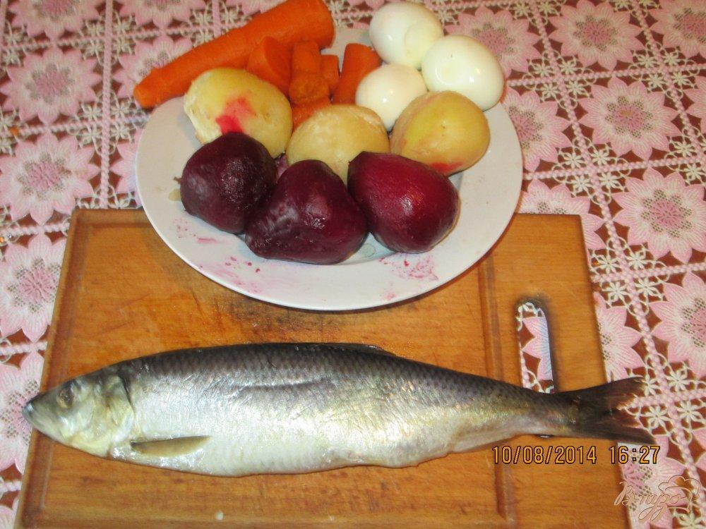 Фото приготовление рецепта: Селедка под шубой шаг №1