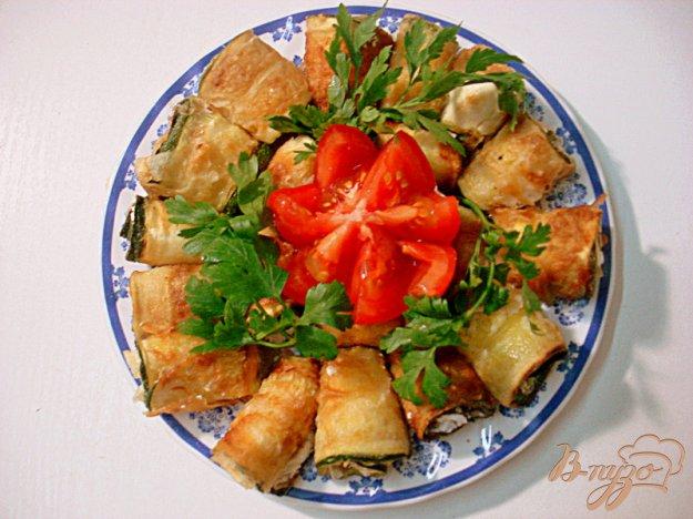 Рецепт Рулетики из цукини со сливочным сыром