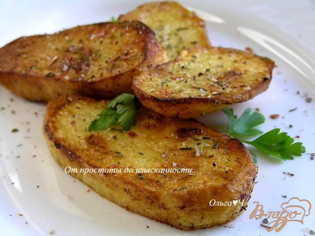 Рецепт Картофель с хрустящей корочкой