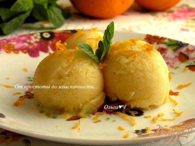 Рецепт Апельсиновое мороженое