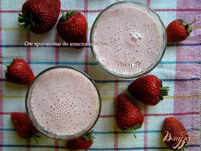 Фото приготовление рецепта: Молочный коктейль