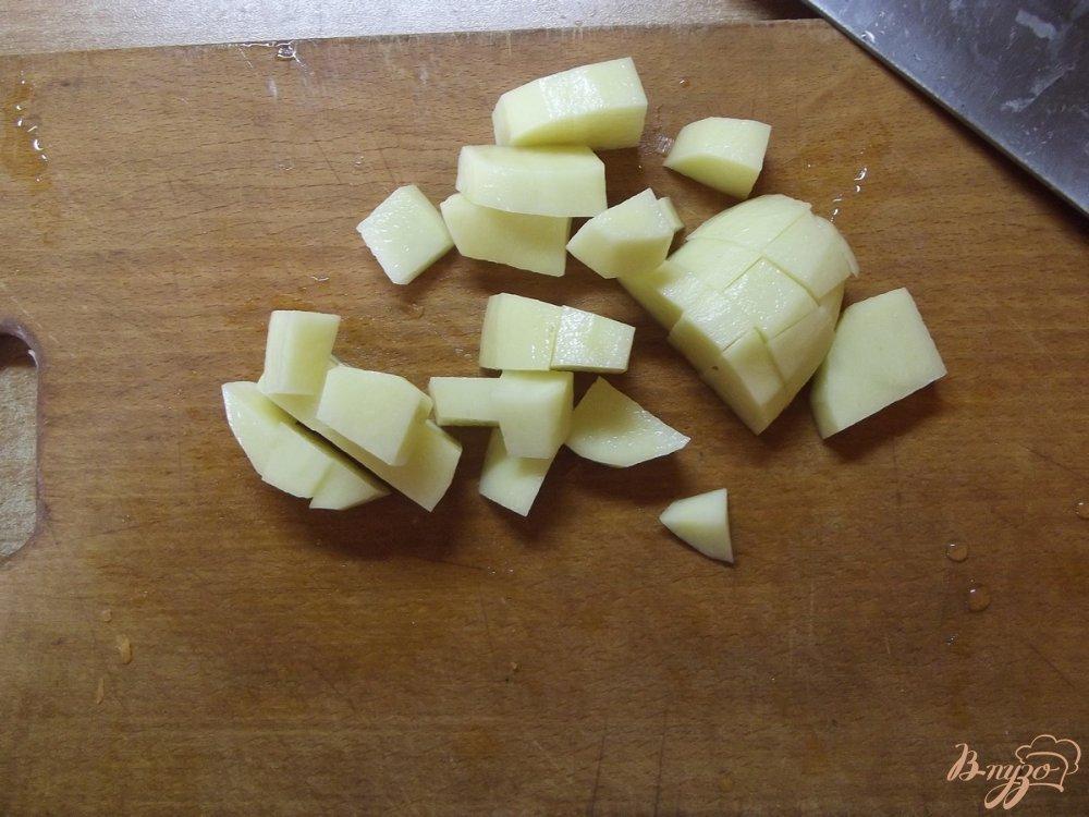 Фото приготовление рецепта: Суп из вешанок с говядиной шаг №2