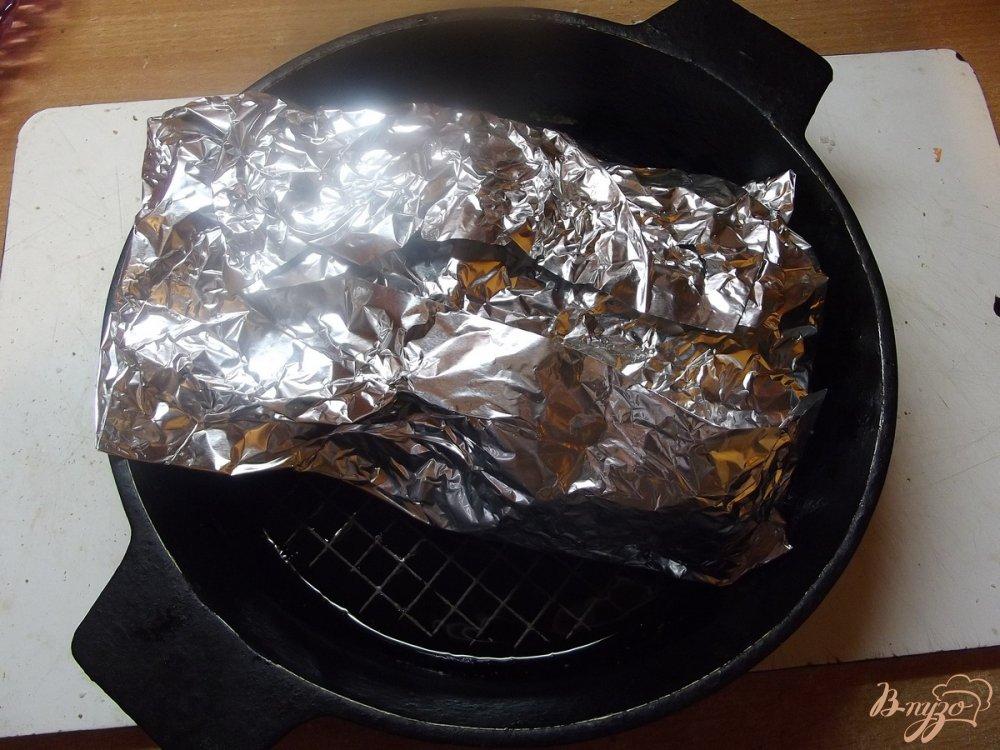 Фото приготовление рецепта: Сочный чалогач в духовке шаг №5