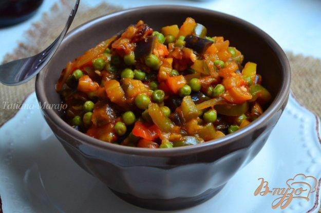 Рецепт Овощное рагу с зеленым горошком