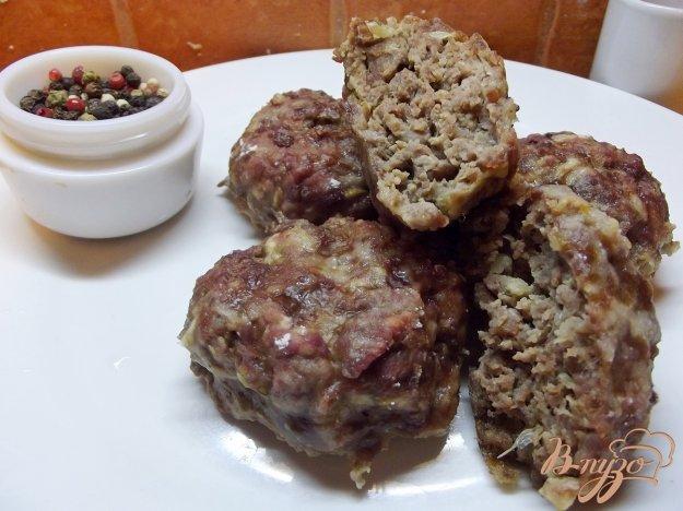 Рецепт Печеные котлеты из говядины и баранины