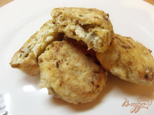 Рецепт Котлеты куриные с грибами