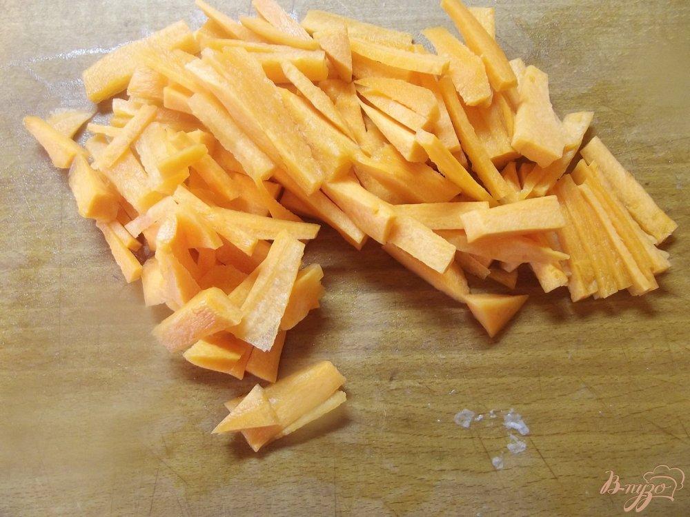 Фото приготовление рецепта: Суп с вешанками шаг №4
