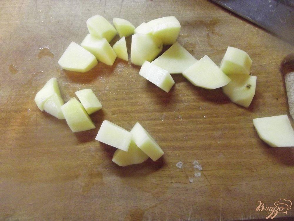 Фото приготовление рецепта: Суп с вешанками шаг №3