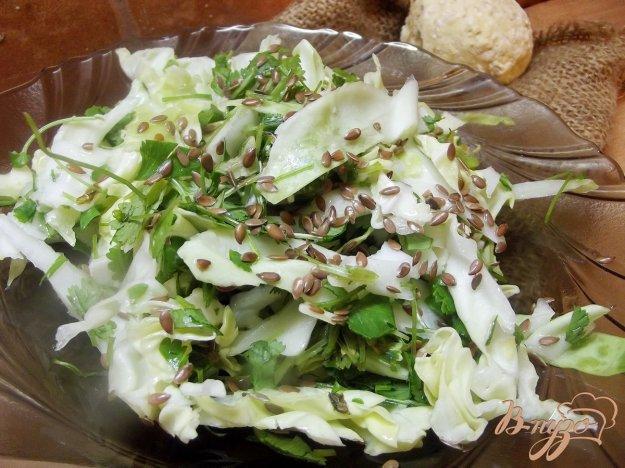 фото рецепта: Капустный салат с кинзой