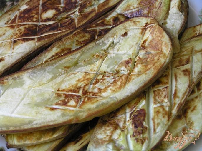 Фото приготовление рецепта: Гратен из баклажанов от Бернара Шаттона шаг №4