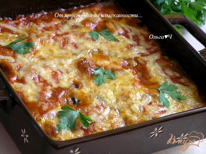 Фото приготовление рецепта: Гратен из баклажанов от Бернара Шаттона шаг №10