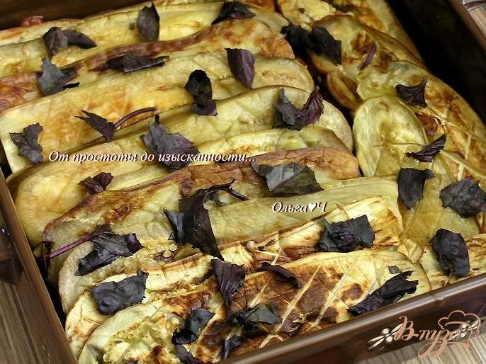 Фото приготовление рецепта: Гратен из баклажанов от Бернара Шаттона шаг №7