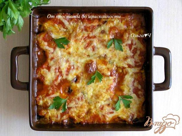 фото рецепта: Гратен из баклажанов от Бернара Шаттона