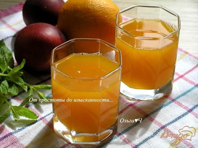Фото приготовление рецепта: Напиток из тыквы и грейпфрута шаг №4