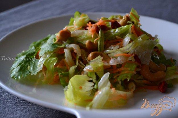 Рецепт Овощной салат с ягодами годжи