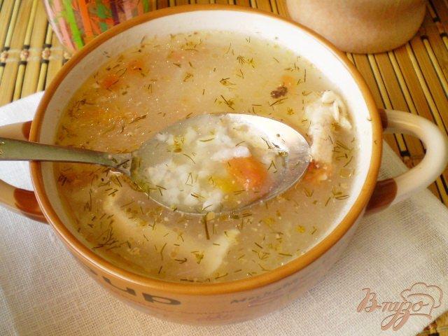 Фото приготовление рецепта: Суп рисовый без зажарки шаг №6