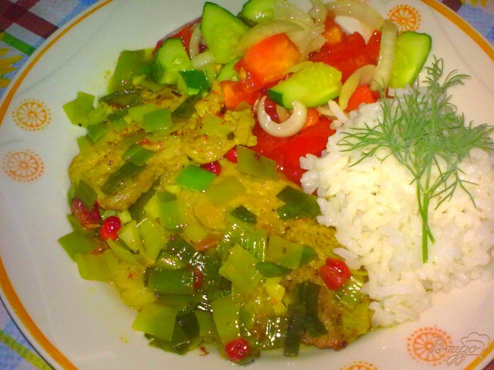 Фото приготовление рецепта: Свинина(говядина) в ароматном соусе шаг №8