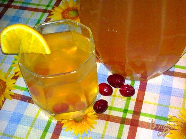 Рецепт Компот фруктовый с имбирем