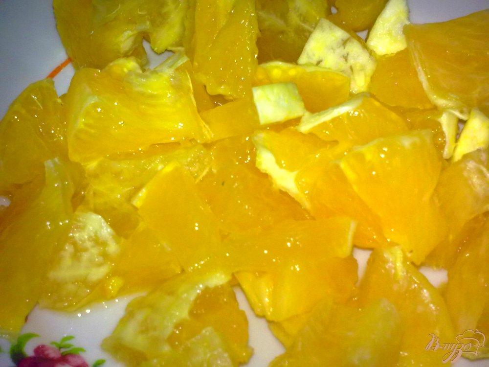Фото приготовление рецепта: Компот фруктовый с имбирем шаг №2